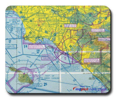 Mouse Pad VFR Sectional Chart