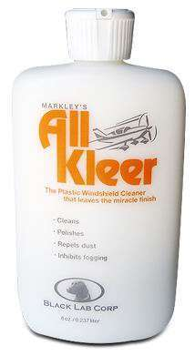 All Kleer Windshield Cleaner & Polish - 8 oz.