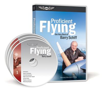 Barry Schiff Proficient Flying 3-Disc DVD Set