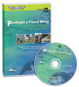 Preflight a Fixed Wing Light-Sport Aircraft for Sport Pilots DVD