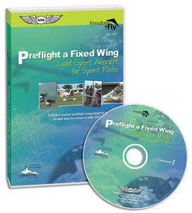Preflight A Fixed Wing Light-sport Aircraft For Sport Pilots Dvd
