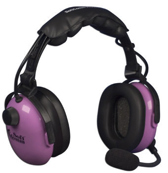 Softcomm C-45-20 Anr Headset - Purple