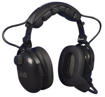 SoftComm C-45-20 ANR Headset - Black