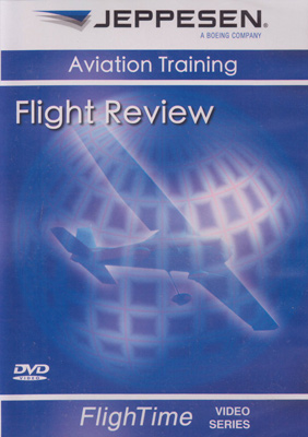 Jeppesen Flight Review Video (DVD)