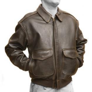 Antique Lamb A-2 Jacket
