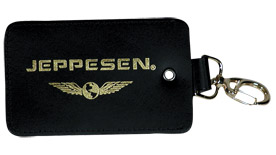 Jeppesen Premium Leather Luggage Tag