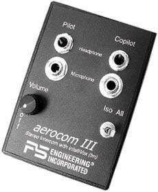 PS Engineering Aerocom III Stereo Portable Intercom