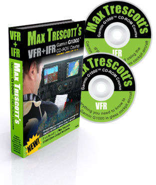 Max Trescott's Garmin G1000 CD-ROM Course VFR + IFR