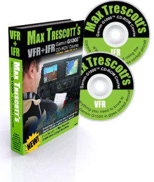 Max Trescotts Garmin G1000 Cd-rom Course Vfr + Ifr