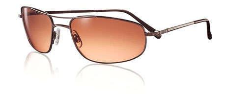 Serengeti Velocity Titanium Aviator Sunglasses