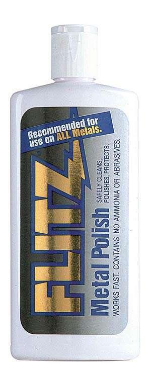 Flitz Liquid Metal, Plastic and Fiberglass Polish (7.6 oz.)