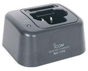 Icom Rapid Desktop Charger Bc-119n