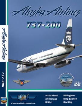 Alaska Airlines B737-200 Cockpit Video (dvd)