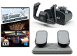 Deluxe CH Products Flight Simulator Bundle - MS Flight Sim Gold, Yoke, and Rudders