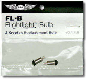 2 Spare Light Bulbs For Flightlight