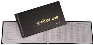 ASA Pilot Log Book, Black