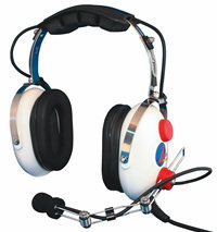 AV COMM AC260 White Knight Jr. Child's Headset
