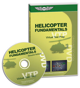 ASA Virtual Test Prep DVD - Helicopter