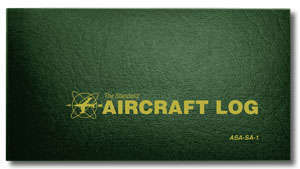 Aircraft Logbook, Soft Cover