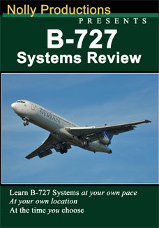 Nolly B-727 Aircraft Systems Review Dvd
