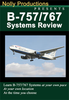 Nolly B-757 / B-767 Aircraft Systems Review Dvd