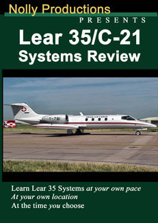 Nolly Learjet 35 / 36 Aircraft Systems Review DVD