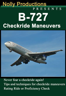 Nolly B-727 Checkride Maneuvers DVD