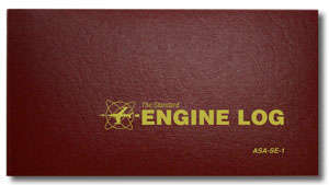 Engine Logbook, Hard Cover