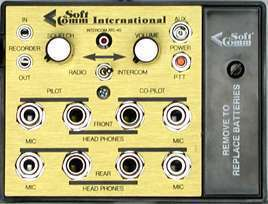 Softcomm Atc-4s Portable 4 Place Stereo Intercom