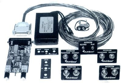 SoftComm ATC-4PS Panel Mount 4 Place Stereo Intercom