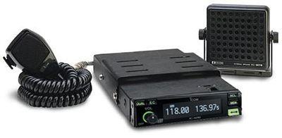Icom Ic-a210 With Mb-53 Vehicle Mount Vhf Air Band Transceiver