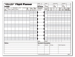 ASA Flight Planner Sheets