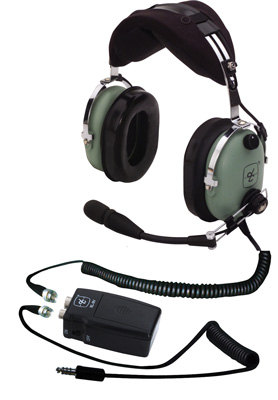 David Clark H10-13HXP Panel Powered Helicopter Headset