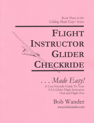 Glider Flight Instructor Checkride