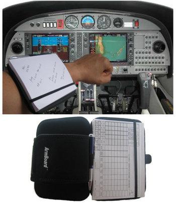 Armboard Cockpit Writing Tool