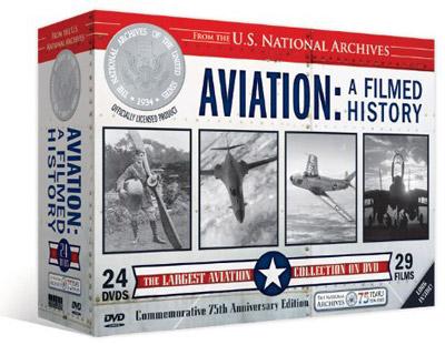 Aviation:  A Filmed History (24 DVD Set)