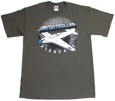 Uncontrolled Airspace T-Shirt