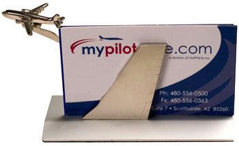 Airplane business card holder colourmoves