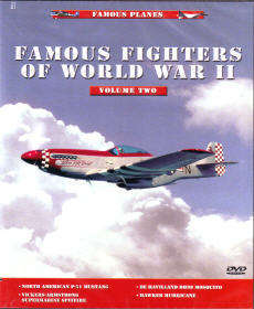 DVD: Famous Planes: Famous Fighters of World War II, Vol. 2