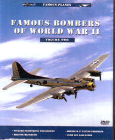 Dvd: Famous Planes: Famous Bombers Of World War Ii, Vol. 2