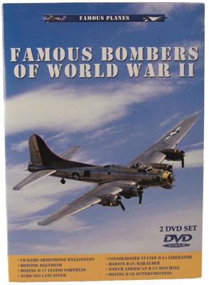 DVD: Famous Planes: Famous Bombers of World War II, Vol. 1 and Vol. 2 Twin-Pak