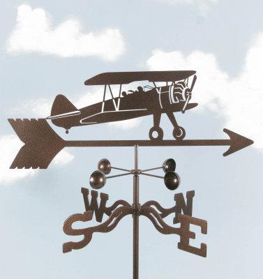 Bi-Plane Weathervane