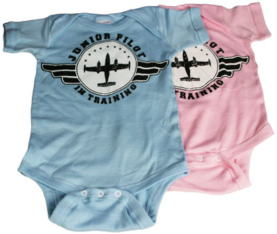Junior Pilot In Training Infant Onesie