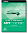 ASA Airline Transport Pilot Test Prep Book