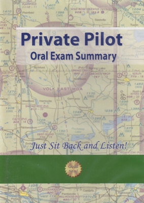 Private Pilot Oral Exam Summary Audio CD