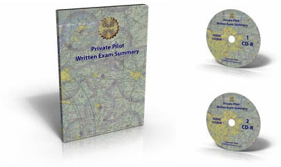 Private Pilot Written Test Summary Audio CD