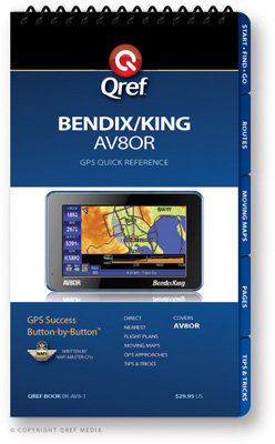 Bendix/King AV8OR Multi-Page Qref Book