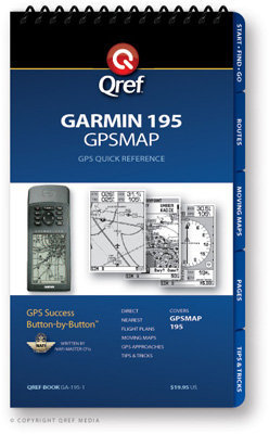 Garmin GPSMAP 195 Multi-Page Qref Book