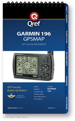 Garmin GPSMAP 196 Multi-Page Qref Book