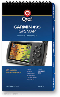 Garmin GPSMAP 495 Multi-Page Qref Book